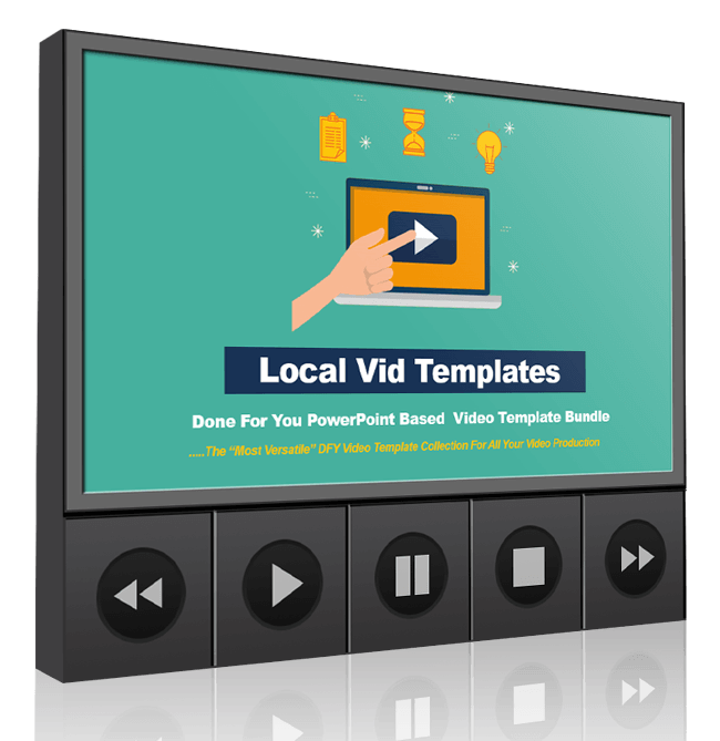 220+ Done For You Local Video Templates